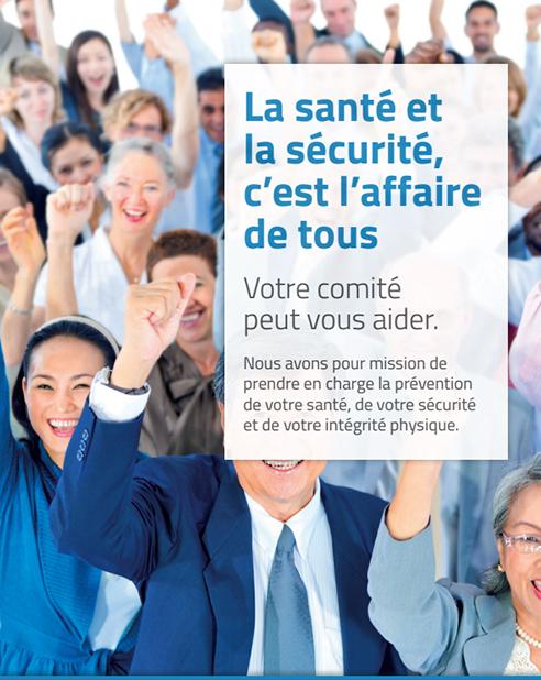 Affiche : La santé et la sécurité c'est l'affaire de tous