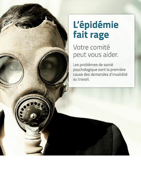 Affiche : L'épidémie fait rage