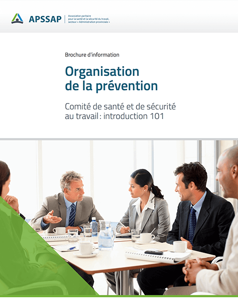 Comité de santé et de sécurité au travail : introduction 101