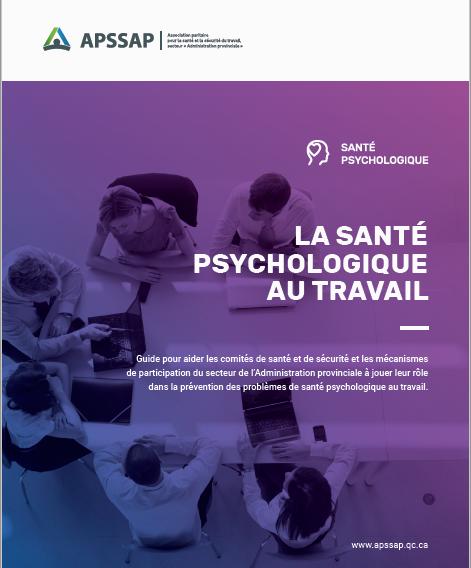 Guide en santé psychologique au travail