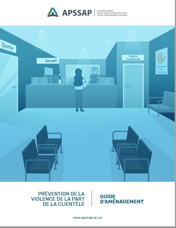 Prévention de la violence de la part de la clientèle : Guide d'aménagement